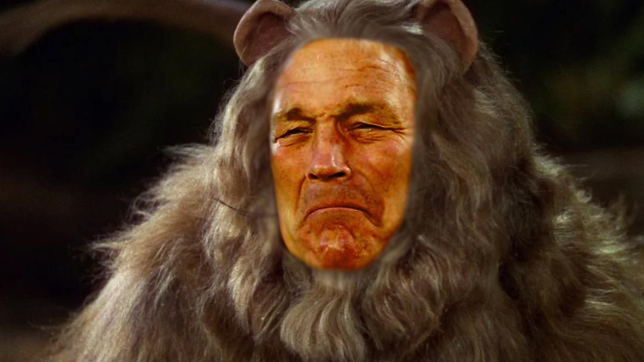 Kirk Ferentz Cowardly Lion