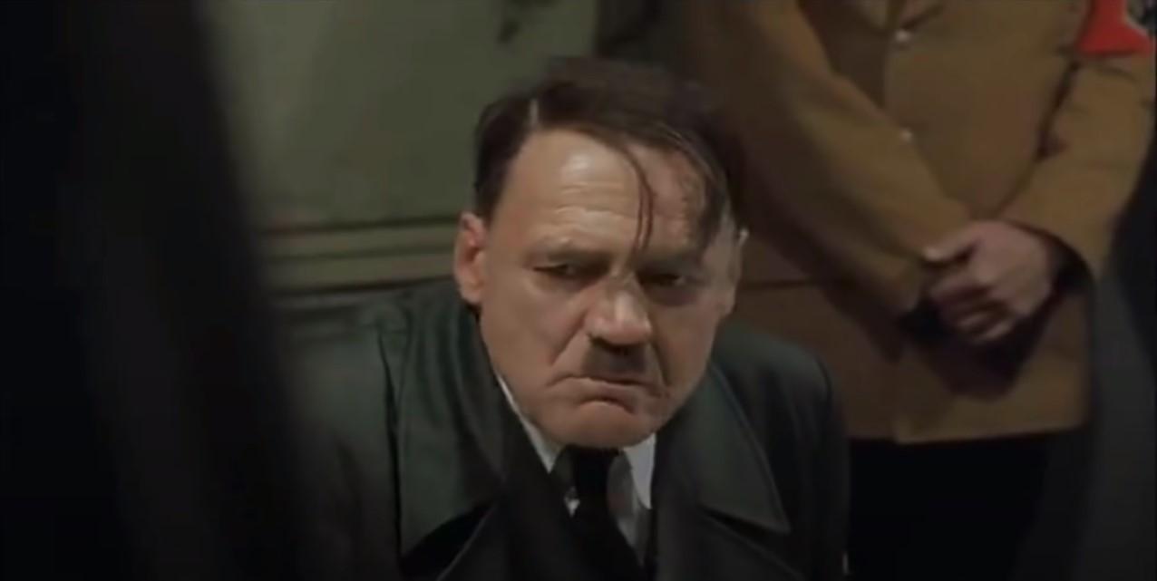Sad Hitler