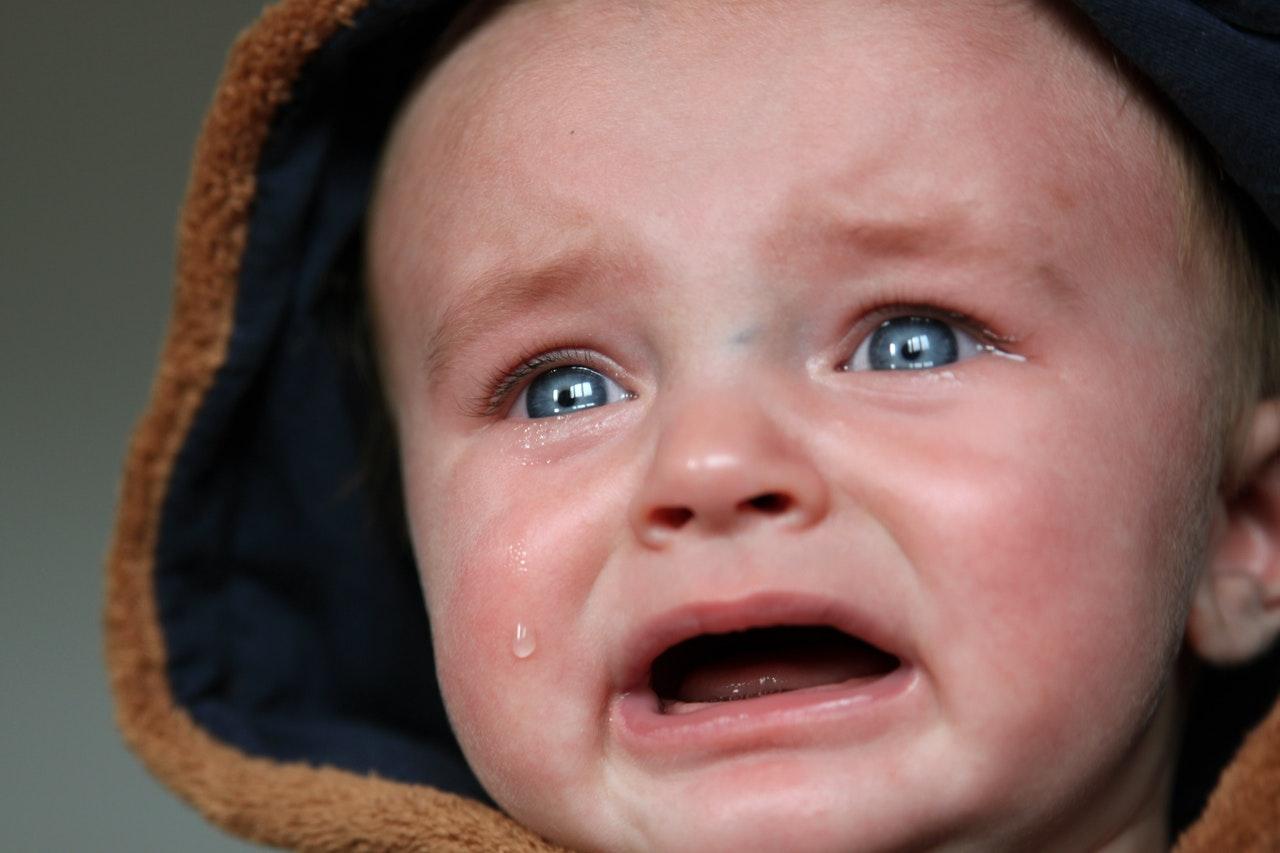 Big Ten President Crying