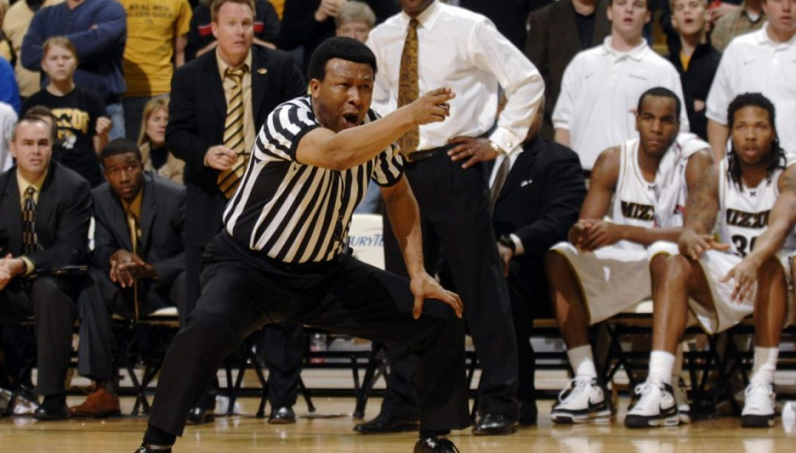 Referee Calling Foul
